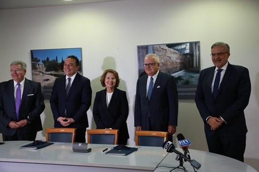 Μνημόνιο Συνεργασίας για τις Επετειακές Δράσεις 1821-2021 μεταξύ Γενικής Γραμματείας Απόδημου Ελληνισμού και Τράπεζας Πειραιώς